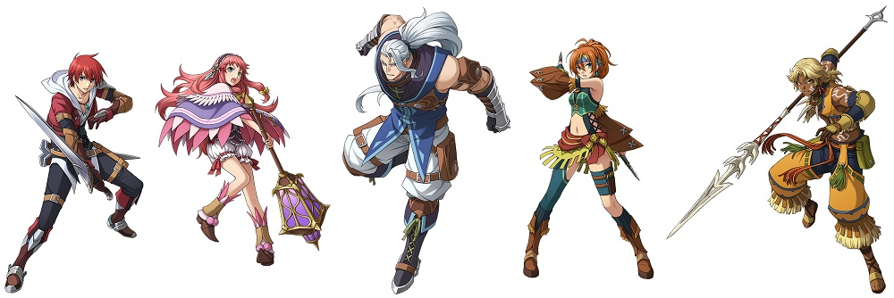 ys-memories-of-celceta-personnages