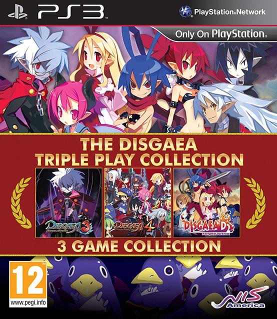 The Disagea Triple Play Collection Image de la jaquette