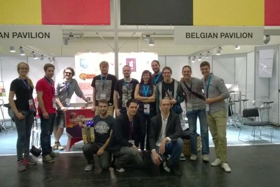 Gamescom Belgian Pavilion Belgium Belgique