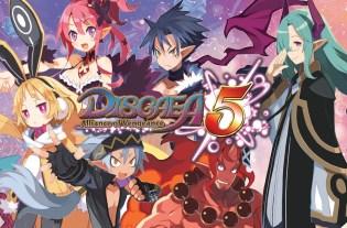 Disgaea 5 une
