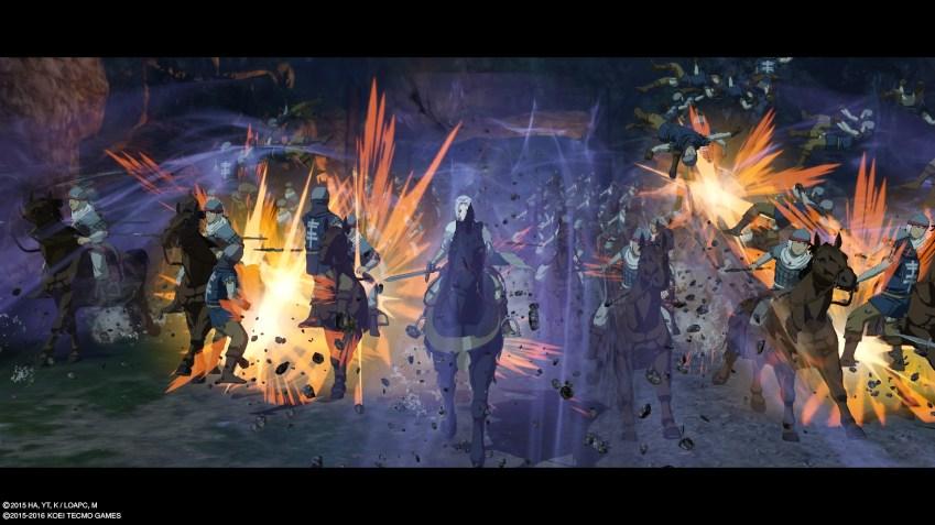 Arslan déferle littéralement sur les ennemis grâce au Marzban Rush