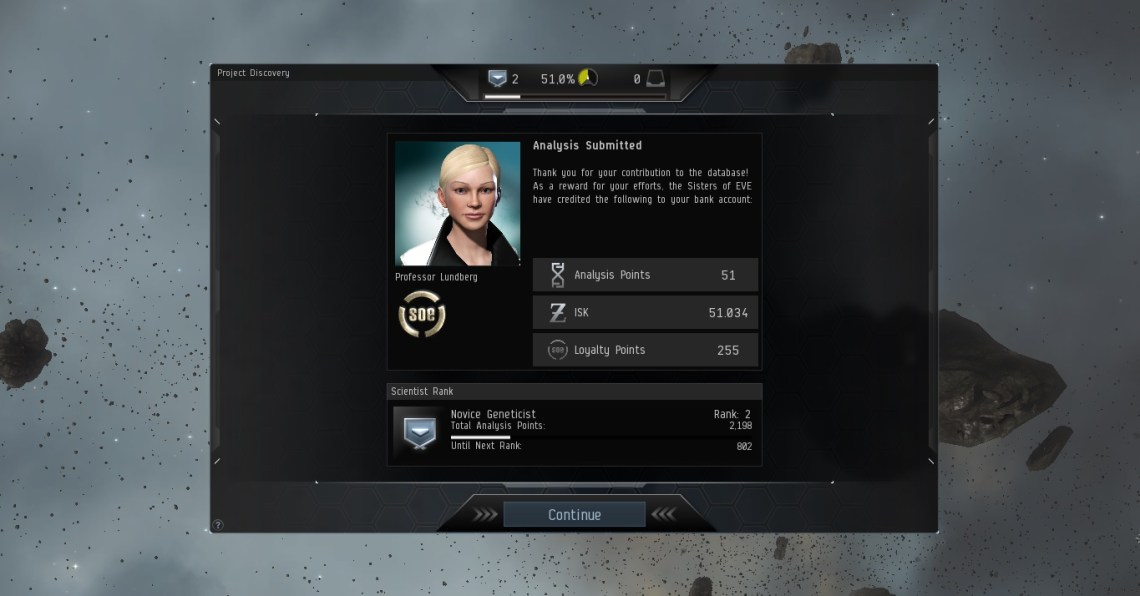 Eve Online Project Discovery Image
