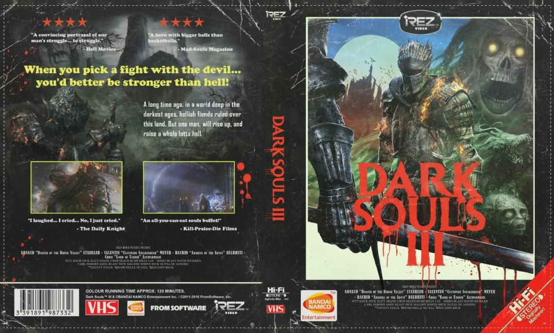 Dark Souls III Jaquette VHS