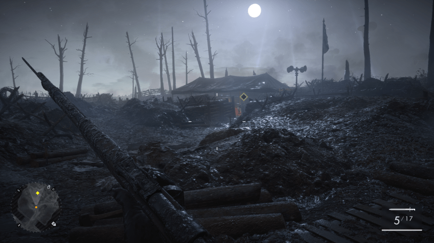 Screenshot de Battlefield 1 sur Ps4