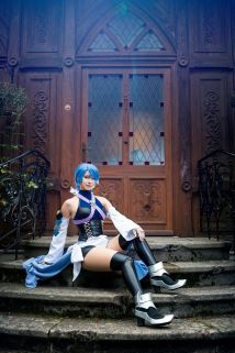 Kingdom Hearts Birth by Sleep - Aqua © Enji Night by Blue Potion