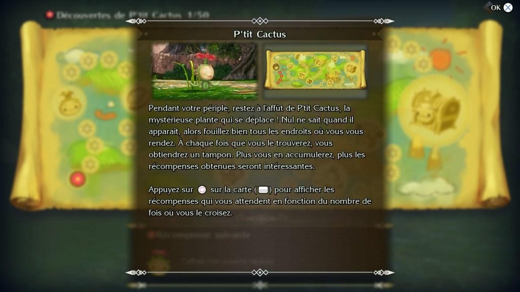 Trials of Mana ptit cactus