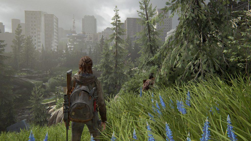 un beau paysage dans The Last of Us Part II pour le test