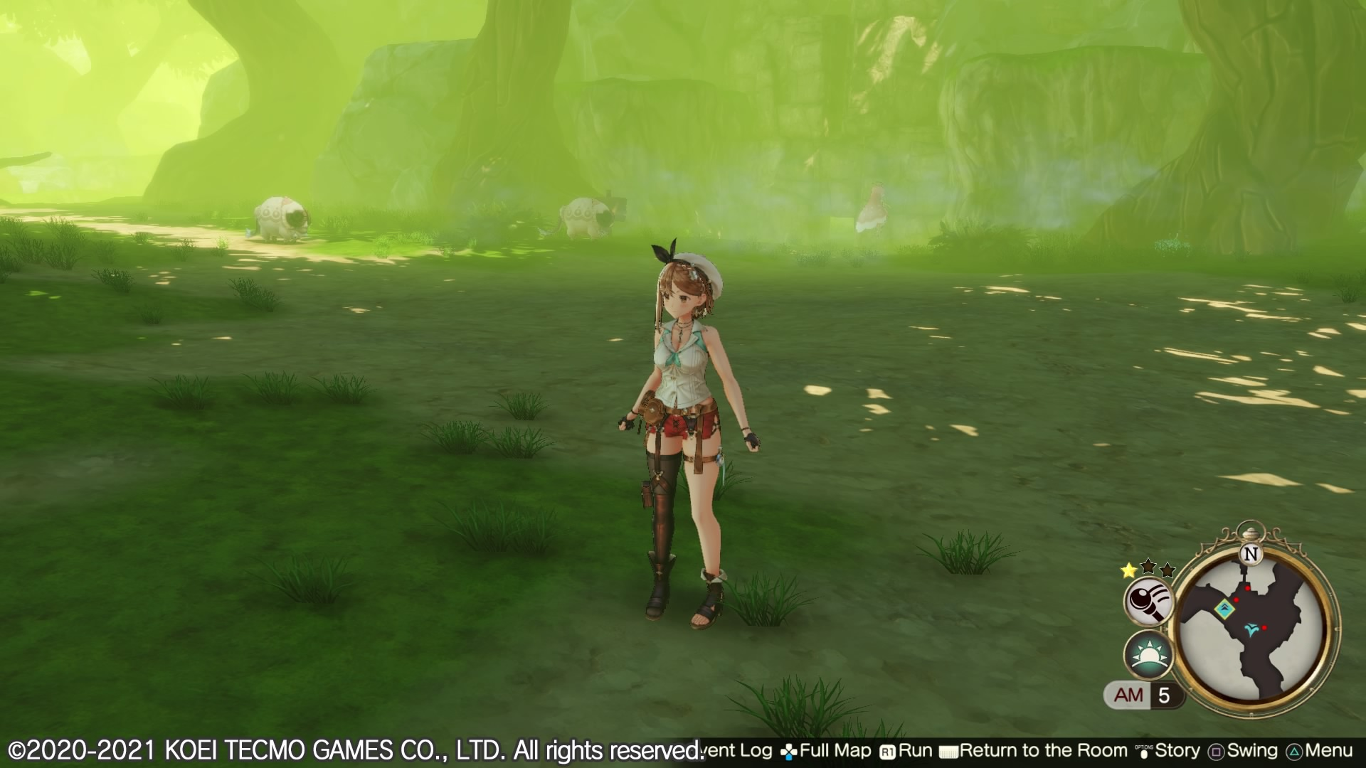Atelier Ryza 2 Brouillard PS4