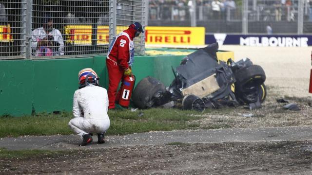 accidente Fernando Alonso