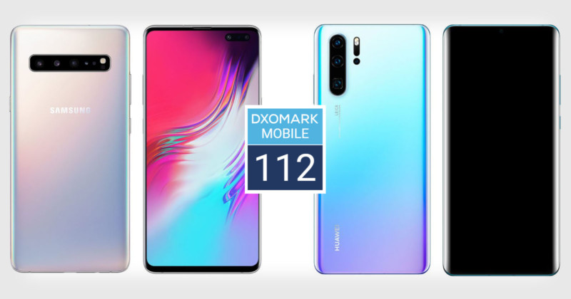 Samsung Galaxy S10 5G Ties Huawei P30 Pro for #1 at DxOMark