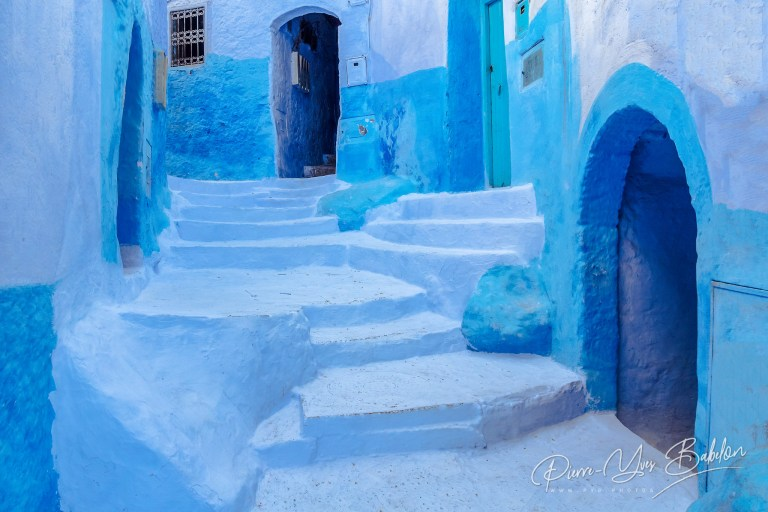 Staircase in Chefchaouen