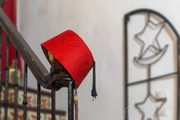 Traditional fez hat