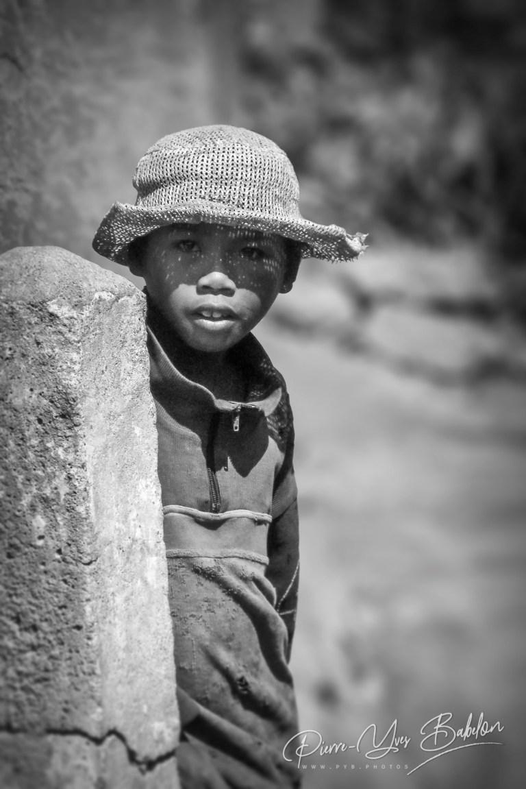 Jeune garçon malgache Merina