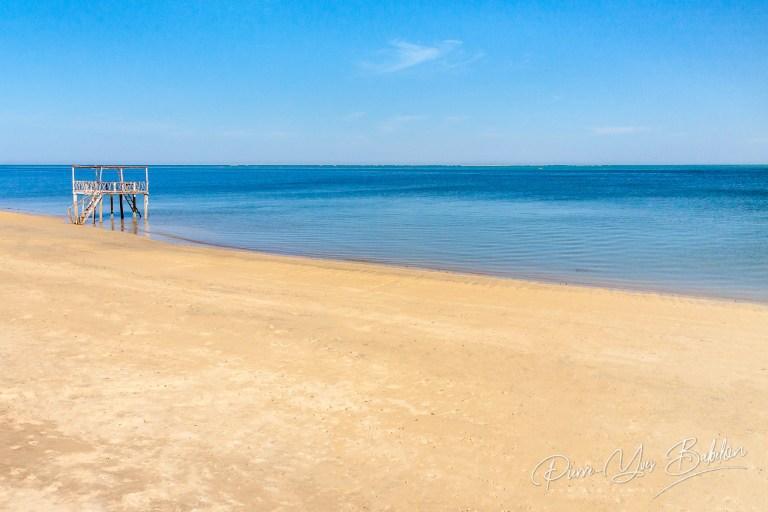 Gazebo sur la plage