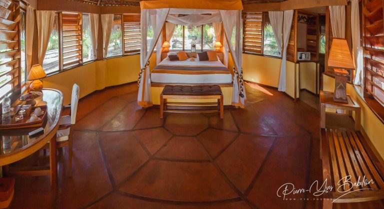 Bedroom of bungalow