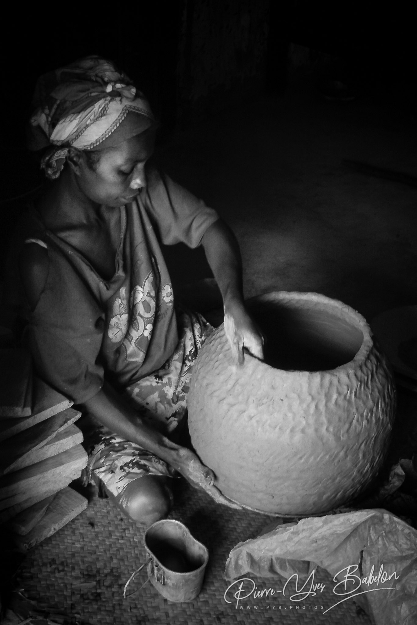 Artisanat de poterie à Fianarantsoa, Madagascar