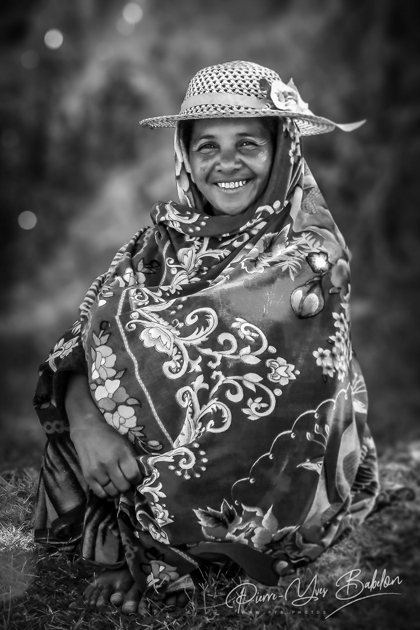 Femme Betsileo près de Fianarantsoa, Madagascar