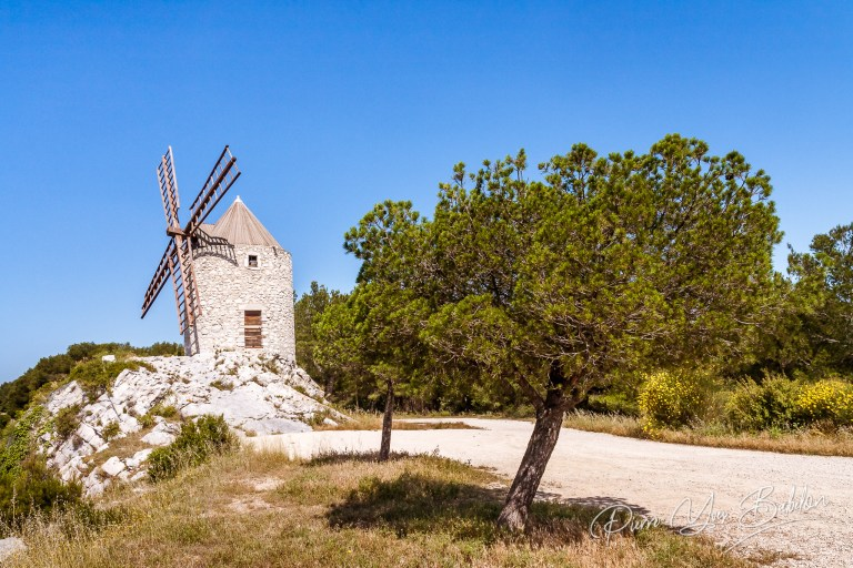 Pallieres windmill in Provence