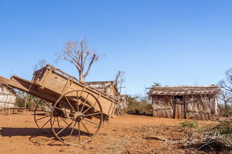 Village tribal malgache