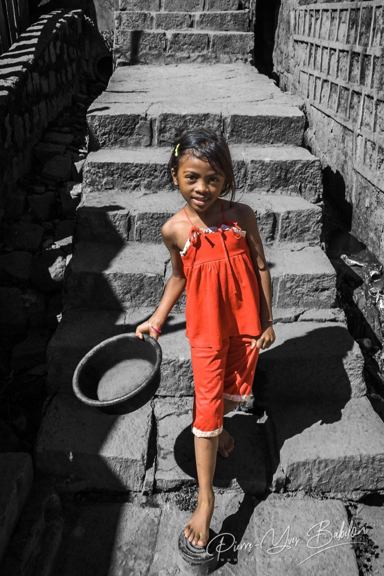 Jeune fille malgache Merina