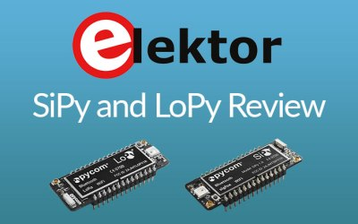 ElektorMagazine review of Pycom IoT Development Boards