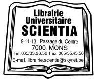logo librairie scientia