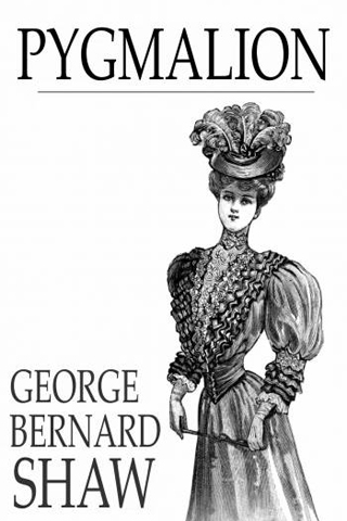 Pygmalion by George Bernard Shaw Play Book Cover