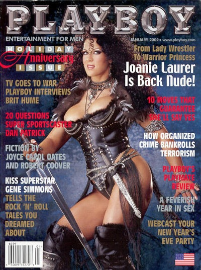 CHYNA naked in Playboy