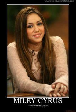 Miley Cyrus jailbait