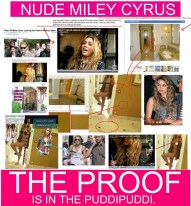 miley cyrus nude prooves