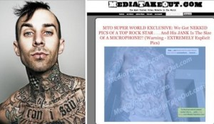 Travis Barker nude photos released