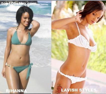 Rihanna look-a-like porn star Lavish Styles