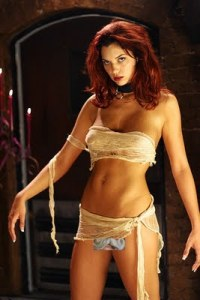 Jayden Cole as Eve in Bikini Frankenstein