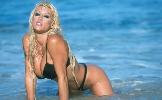Jill Kelly on the beach