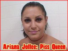 Ariana Jollee Piss Queen