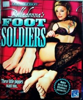 Belladonna feet foot-solldiers