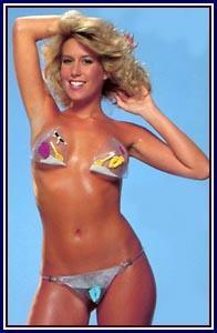 Candie Evans bikini