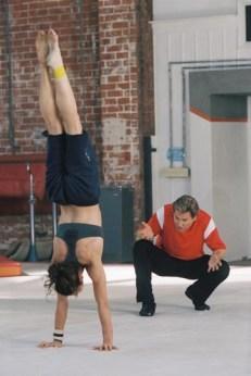 Hilary Swank Missy Peregrym gymnastics movie 05