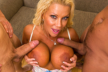 JR Carrington milf double tits job