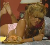 Jill Kelly feet soles pose