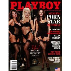 2002 Jenna Jameson/Tera Patrick/Asia Carrera Playboy.