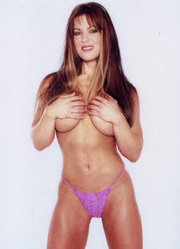Chyna / Joanie Laurer topless + thong