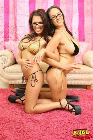 Eva Angelina lick Carmella Bing ass