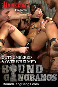 Handgagged raped kink boundgangbangs