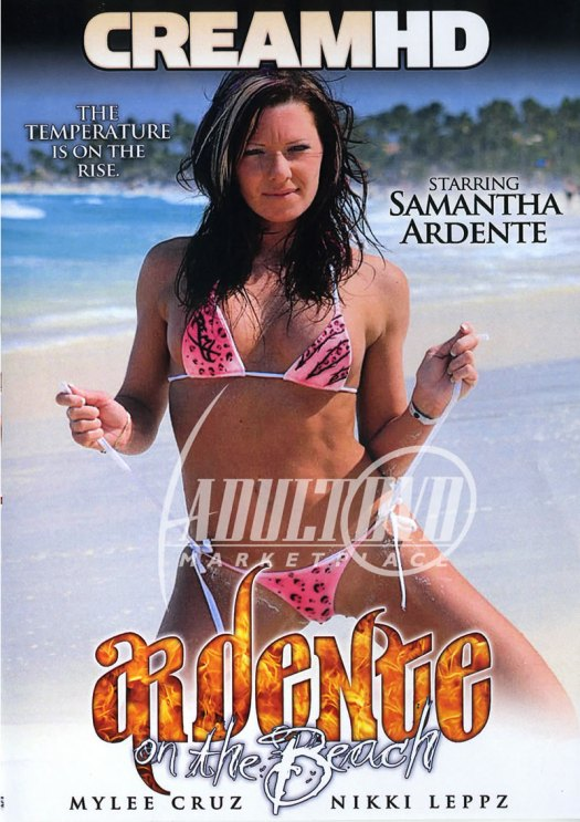 Samantha Ardente On The Beach