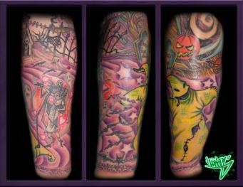 Daisy delaHoya tattoo arm