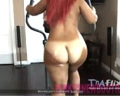 Pink thick booty tanline ass