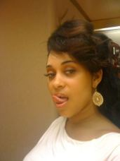 Pinky BBW tongue out