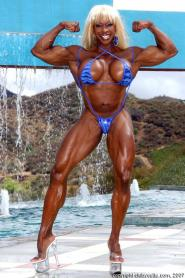Yvette Bova female bodybuilder porn star1