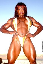 Yvette Bova female bodybuilder porn star26